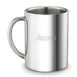 Personalized Double Walled Stainless Steel Mug