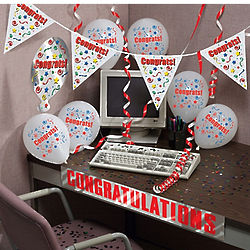 Congratulations Cubicle Decorating Kit