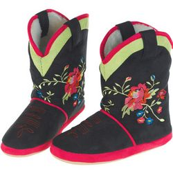 Wildflower Cowgirl Slippers