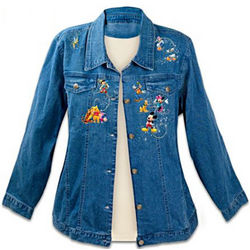 Magic of Disney Embroidered Denim Jacket
