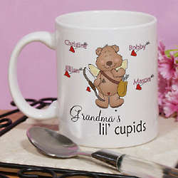 Personalized Lil' Cupids Coffee Mug