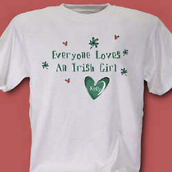 Everyone Loves Personalized Irish T-Shirt