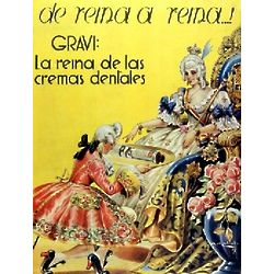 Pasta Gravi Vintage Cuban Ad Poster