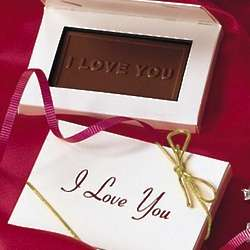 Chocolate I Love You Card