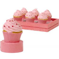 Pink Cupcake Tea Lights