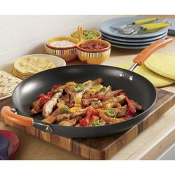 "Rachael Ray 14"" Skillet with Helper Handle"