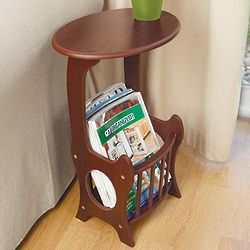 Wooden Magazine Table