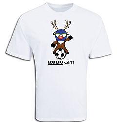 Rudo-lph Soccer T-Shirt