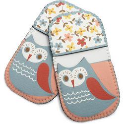 Spring Owl Mini Grip Pot Holders