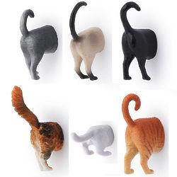 3D Cat Butt Magnets