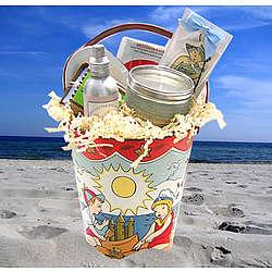 Love The Beach Gift Basket - FindGift.com