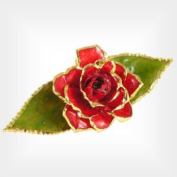 Victorian Rose Pin