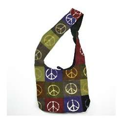 Peace Patchwork Bag