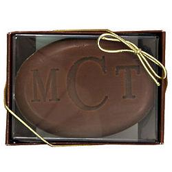 Milk Chocolate Truffle Personalized Single Bar Soap