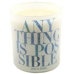Anything is Possible Inspirational Candle
