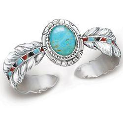 Sedona Sky Turquoise Women's Cuff Bracelet