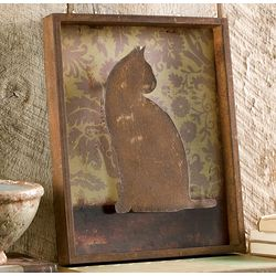 Cat Shadow Box