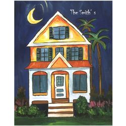 The Smith's Home Personalized Art Print