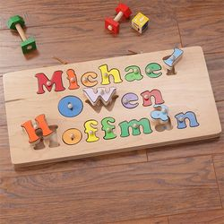 Kid's My Full Name Personalized Puzzle Board