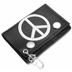 World Peace Trifold Wallet