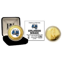 Orlando Magic Gold and Color Mint Coin