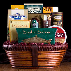 Deluxe Gourmet Treats Gift Basket