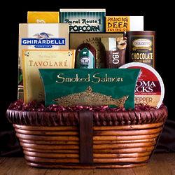Deluxe Gourmet Treats Gift Basket