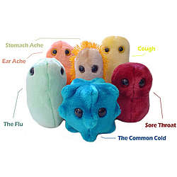 Plush Dolls of Common Ailments
