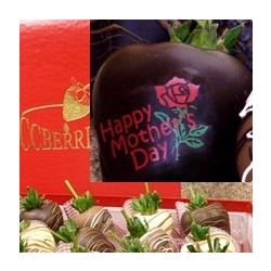 Mother's Day Chocolate Covered Strawberries