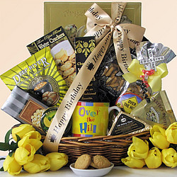 Over The Hill! Birthday Gift Basket