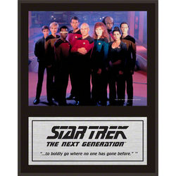 Star Trek The Next Generation Plaque