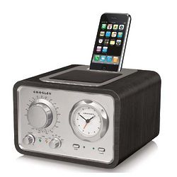 Black iDuet AM FM Alarm Clock Radio