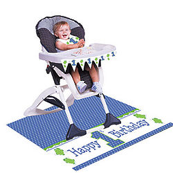 Mr. Turtle First Birthday High Chair Kit