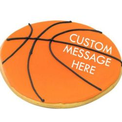 Giant Basketball Cookie