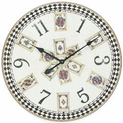 Playing Card Wall Clock