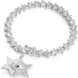 2012 Make-A-Wish Engravable Star Charm Bracelet