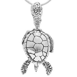 Sea Turtle Bell Charm