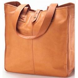Oversized Vachetta Leather tote