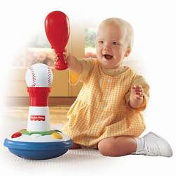 Brilliant Basics Baby Baseball Toy