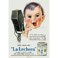 La Lechera Condensada Vintage Cuban Ad Poster