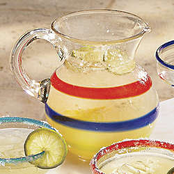 Baja Handcrafted 3-Quart Glass Pitcher
