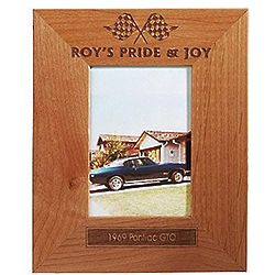 Personalized Wooden Car Frame