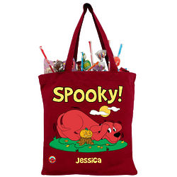 Personalized Clifford the Big Red Dog Trick-or-Treat Bag