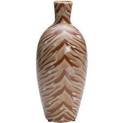 """Tiger Print 12"""" Ceramic Vase"""