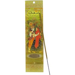 Hand Rolled Incense Gokula Myrrh, Vanilla & Tulsi 10 Sticks