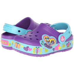 Lighted Butterfly Clog Girl's Shoes