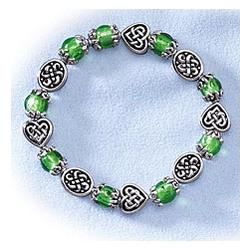 Springtime Celtic Glow Bracelet