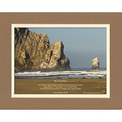 Personalized Sea Print for Friend, Family or Spouse