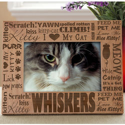 Personalized Good Kitty Picture Frame