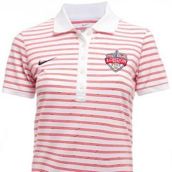2012 Olympics Women's Striped Polo
